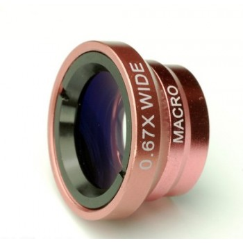 Wide Angle & Macro Lens Suitable for All Type Smart Phone